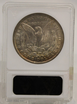 1889 O MORGAN SILVER DOLLAR AU-58