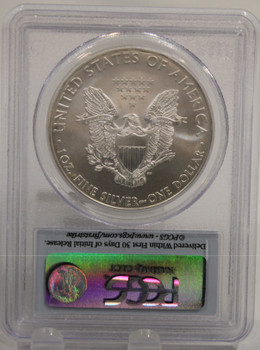 2009 1oz. SILVER EAGLE - MS-70 - FIRST STRIKE