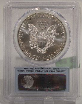 2011 1oz. SILVER EAGLE - MS69 - FIRST STRIKE
