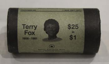 2005 TERRY FOX 1-DOLLAR SPECIAL WRAP ROLL