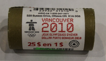 2010 LUCKY LOONIE 1-DOLLAR SPECIAL WRAP ROLL