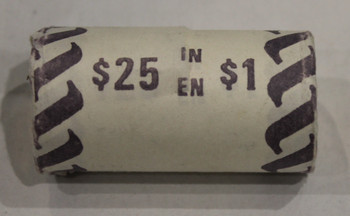 1987 1-DOLLAR ROLL (WHITE PAPER)