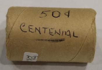 1967 CENTENNIAL 50-CENT ROLL (SILVER)