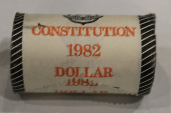 1982 CONSTITUTION 1-DOLLAR ROLL