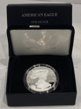 2012 AMERICAN EAGLE ONE OUNCE SILVER PROOF COIN