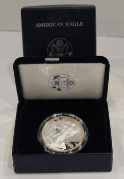 2005 AMERICAN EAGLE ONE OUNCE SILVER PROOF COIN