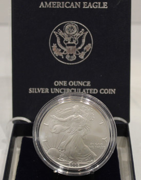 2006 AMERICAN EAGLE ONE OUNCE SILVER UNCIRCULATED COIN