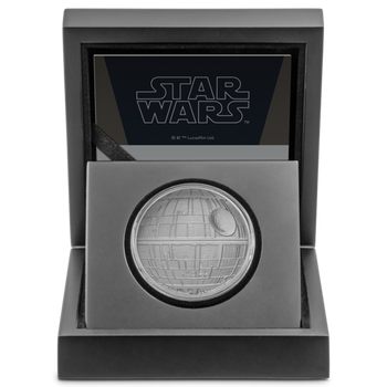 Star Wars™: Death Star™ 1oz Silver Coin