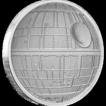 Star Wars™: Death Star™ 1oz Silver Coin