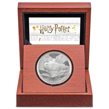 HARRY POTTER™ - Hogwarts™ Express 1oz Silver Coin