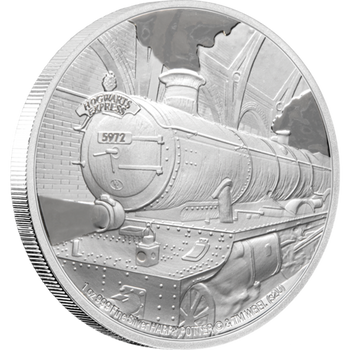 HARRY POTTER™ - Hogwarts™ Express 1oz Silver Coin