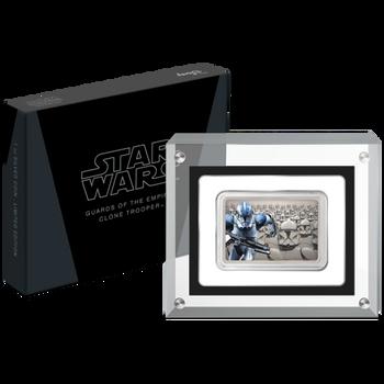 Star Wars: Guards Of The Empire - Clone Trooper™ 1oz Silver Coin