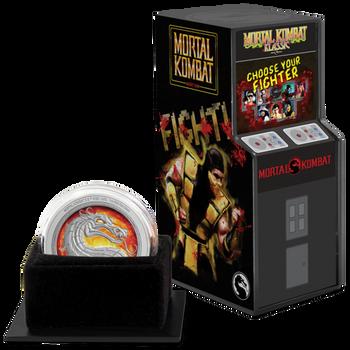 Mortal Kombat 1oz Silver Coin