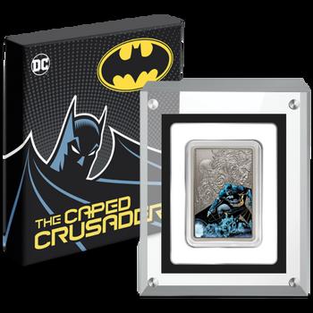 THE CAPED CRUSADER™ - BATMAN™ 1oz Silver Coin