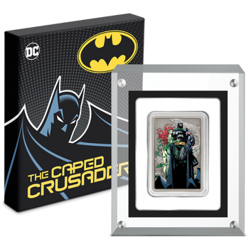 THE CAPED CRUSADER™ - VIXENS 1oz Silver Coin