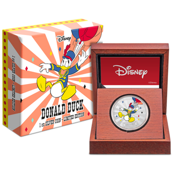 Mickey Mouse & Friends Carnival - Donald Duck 1oz Silver Coin