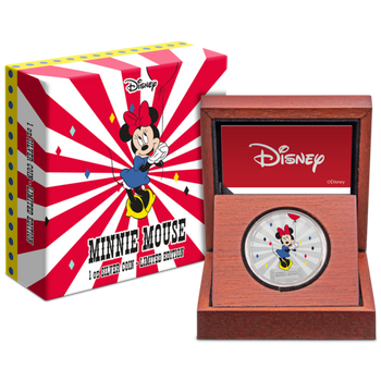 Mickey Mouse & Friends Carnival - Minnie Mouse 1oz Silver Coin