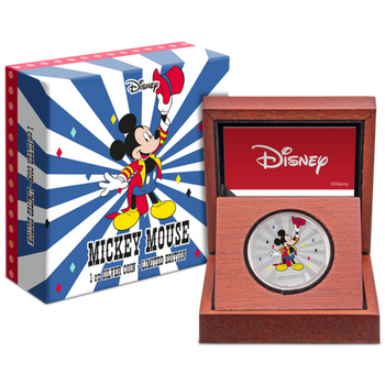 Mickey Mouse & Friends Carnival - Mickey Mouse 1oz Silver Coin