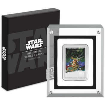 Star Wars: The Empire Strikes Back™ 40th Anniversary 1oz Silver Poster Coin