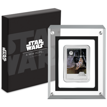 Star Wars: A New Hope 1oz Silver Poster Coin