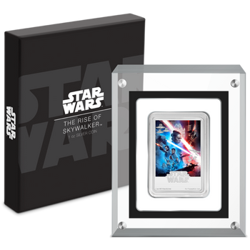 Star Wars: The Rise of Skywalker 1oz Silver Poster Coin