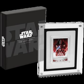 Star Wars: The Last Jedi 1oz Silver Poster Coin