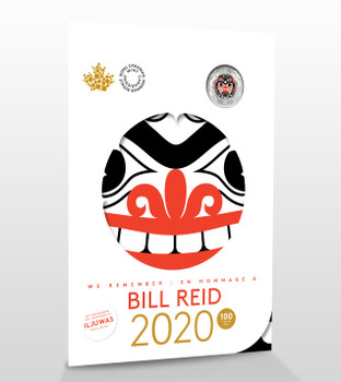 2020 BILL REID COMMEMORATIVE COLLECTOR KEEPSAKE 6-COIN SET