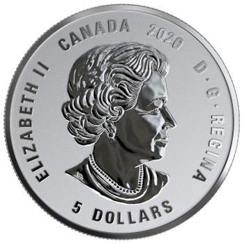 2020 $5 FINE SILVER COIN BIRTHSTONES: NOVEMBER