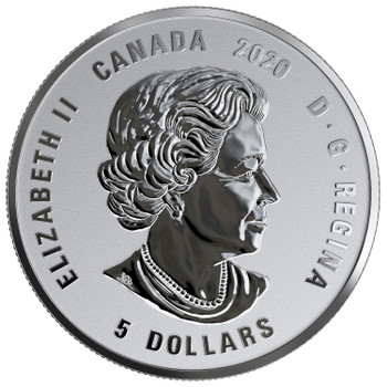 2020 $5 FINE SILVER COIN BIRTHSTONES: OCTOBER