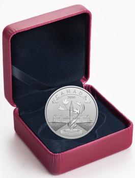 2020 $10 FINE SILVER COIN O CANADA! PARLIAMENT OF CANADA