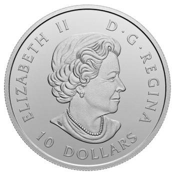 2020 $10 FINE SILVER COIN O CANADA! CHANGING OF THE GUARD