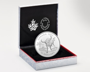 2021 $15 FINE SILVER COIN LUNAR YEAR OF THE OX