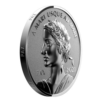 2021 $1 FINE SILVER COIN PEACE DOLLAR