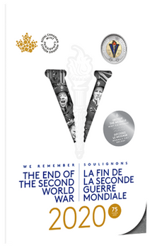 2020 COMMEMORATIVE COLLECTOR KEEPSAKE COIN SET -  75TH ANNIVERSARY OF THE END OF THE SECOND WORLD WAR