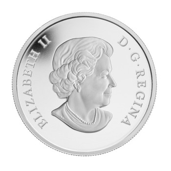 SALE - 2012 $20 FINE SILVER COIN - QUEEN DIAMOND JUBILEE - PORTRAIT IN ULTRA HIGH RELIEF