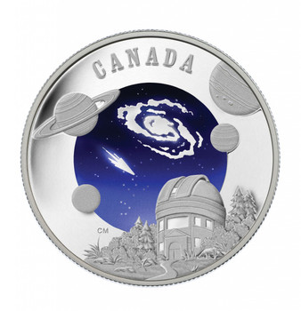 SALE - 2009 $30 STERLING SILVER - INTERNATIONAL YEAR OF ASTRONOMY