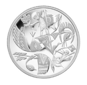 SALE - 2013 $20 FINE SILVER COIN - CANADIAN CONTEMPORARY ART -  DALCEGGIO