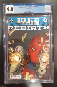RED HOOD & THE OUTLAWS: REBIRTH #1 (2016) CGC 9.8