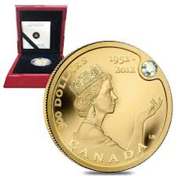 2012 $300 GOLD COIN - HER MAJESTY QUEEN ELIZABETH II DIAMOND JUBILEE