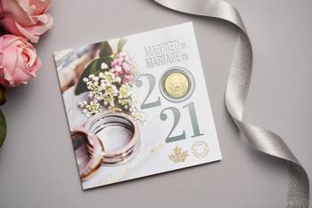 2021 6-COIN WEDDING GIFT SET