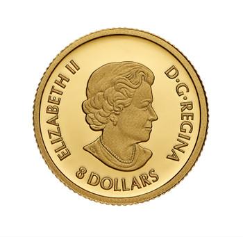 2021 $8  FINE GOLD COIN TRIUMPHANT DRAGON