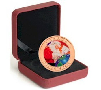 SALE - 2011 50-CENT HOLIDAY COIN - GIFTS FROM SANTA