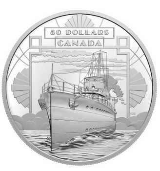 2021 $50 FINE SILVER COIN – THE FIRST 100 YEARS OF CONFEDERATION: COMING OF AGE