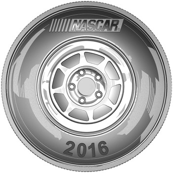 SALE - 2016 1OZ. FINE SILVER MEDALLION NASCAR®
