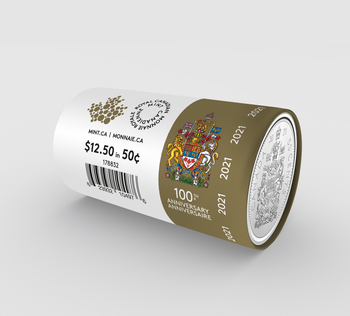 2021 50-CENT SPECIAL WRAP CIRCULATION ROLL