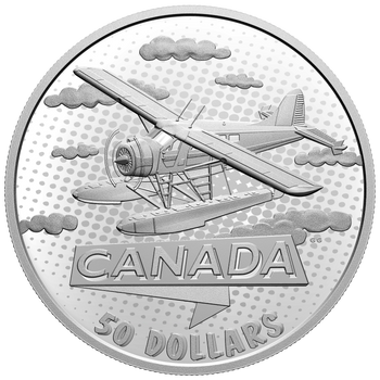 2021 $50 FINE SILVER COIN – THE FIRST 100 YEARS OF CONFEDERATION: CANADA TAKES WING