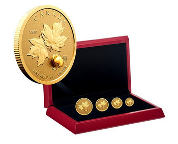 Pure Gold Fractional Set – 125th Anniversary of the Klondike Gold Rush E-TRANSFER ONLY
