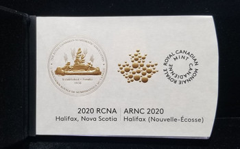 2020 FINE SILVER CLASSIC CANADIAN COIN AND MEDALLION RCNA SET