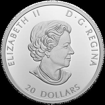 2021 $20 FINE SILVER COIN GENERATIONS: INUIT NUNANGAT