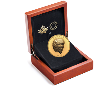 2021 $250 PURE GOLD COIN BOLD BISON